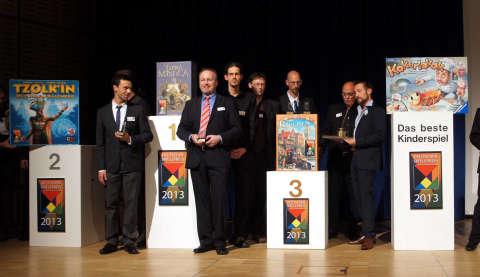 ドイツゲーム賞2013授賞式