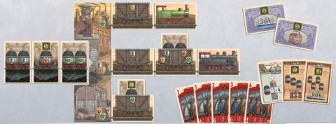 炭鉱讃歌カードゲーム(コンポーネント)