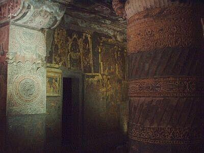 アジャンタ石窟・壁画