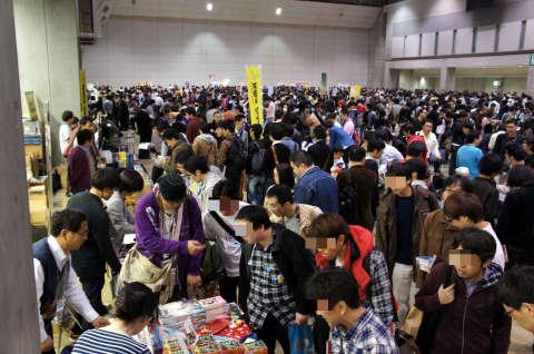 ゲームマーケット2013春:会場の様子