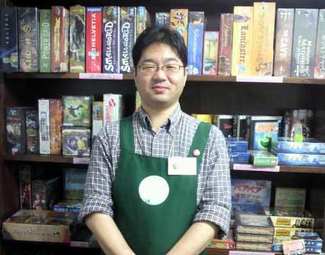 キウイゲームズ:山崎店長