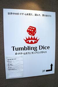 タンブリング・ダイス(1)