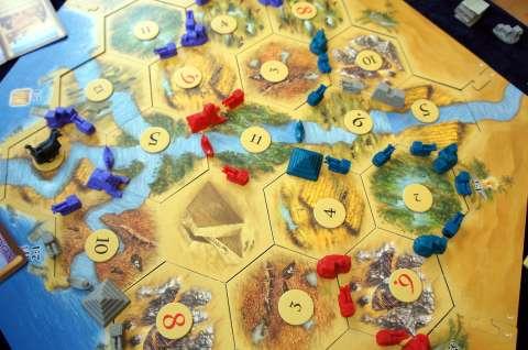 カタンの開拓者たち:古代エジプト