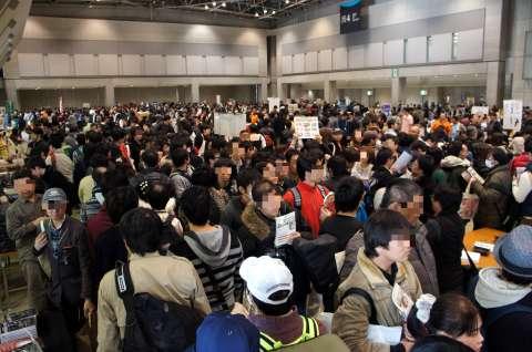 ゲームマーケット2014秋:入場