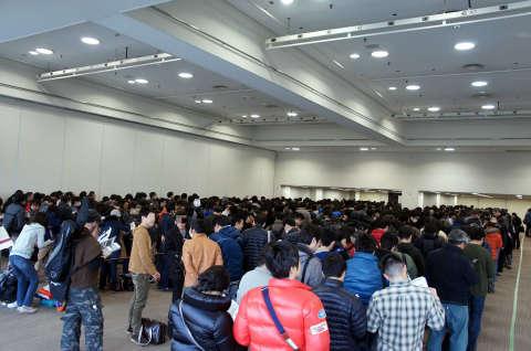 ゲームマーケット2014大阪:待機列