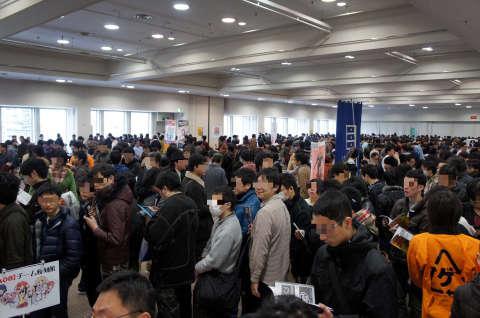 ゲームマーケット2014大阪:開場直後
