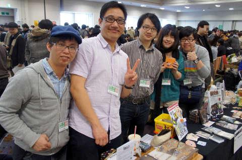 ゲームマーケット2014大阪:台湾からの出展