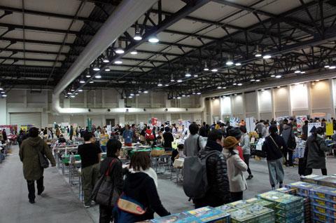 ゲームマーケット2017神戸:会場の様子