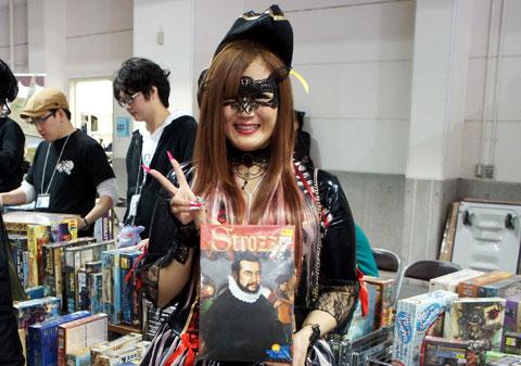 ゲームマーケット2017神戸:DTTちむ店長