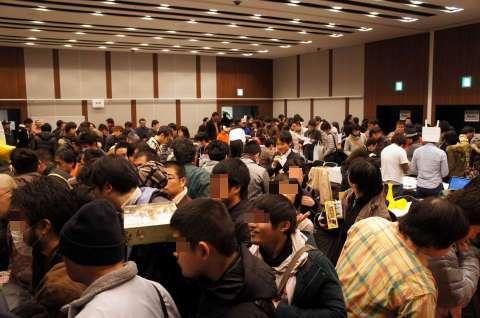 名古屋ボードゲームフリーマーケット:会場の様子