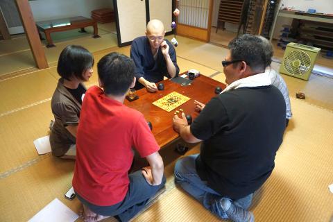 第1回お寺でボードゲーム:ブラフ