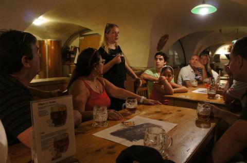 プラハ:ビールツアー