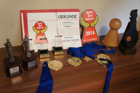 チェコゲームズ出版:コードネームの受賞