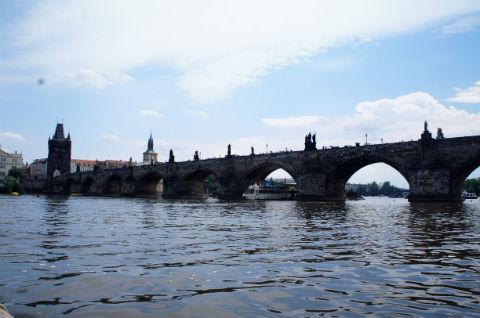 プラハ:カレル橋