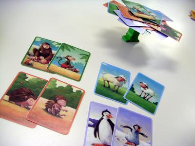 ワニに乗る?カードゲーム